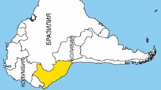 Аборигены страны Южной Америки