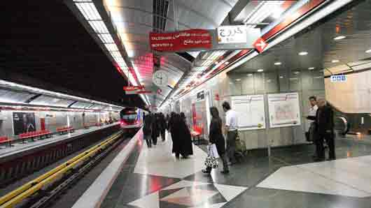 Одна из двух африканских столиц, где построили метро