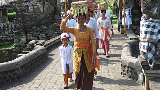 Традиционный наряд балийца