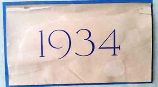 В американском календаре 1934 года март и апрель были напечатаны на папиросной бумаге, май и июнь на бумаге для выкуривания мух