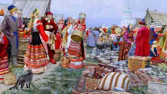 Из-за чего русские купцы имели «право на отдых от недели до месяца»