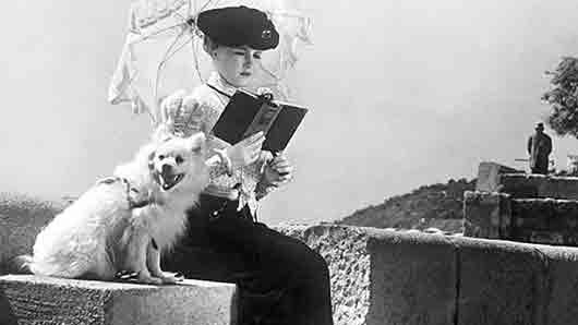 Чеховская «дама с собачкой»