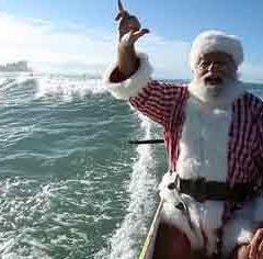 Где, по народным поверьям, живет африканский Дед мороз Санта Христиан