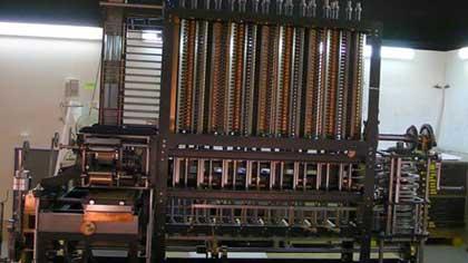 Что производилось на первом станке с программным управлением