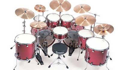 Как между собой музыканты нередко называют ударную установку в полном комплекте