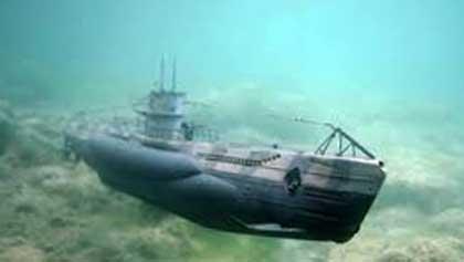 По какой причине затонула турецкая подводная лодка во II мировую