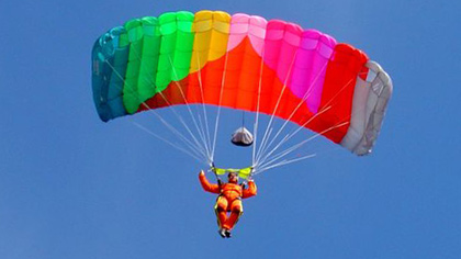 Прыжок с парашютом для акрофоба (8 букв)