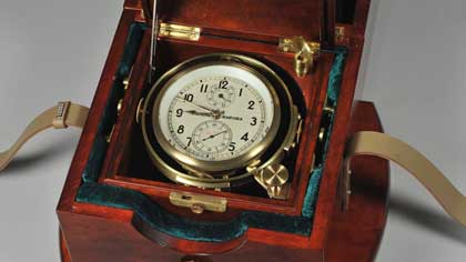 Часы, по которым можно сверять куранты (9 букв)