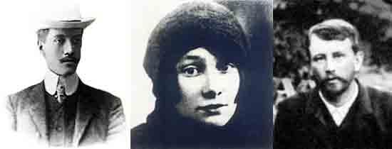 Какой русский писатель был тестем Николая Гумилева