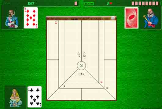 Как называется десятерная игра в преферансе?