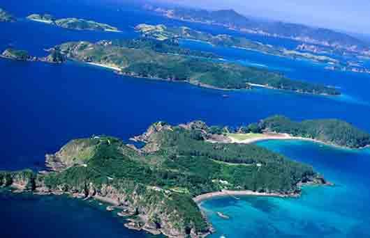 На каких островах Новый год наступает раньше всего?
