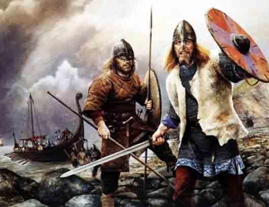 Как звали поэта-певца, развлекавшего викингов на пирах