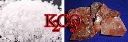 Карбонат калия для производства хрусталя