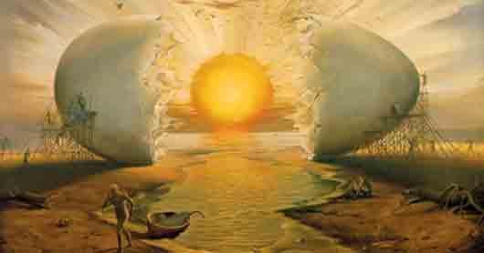 Под каким камнем из «Голубиной книги» течет «живая вода»