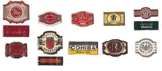 Коллекционер бумажных колец на сигарах