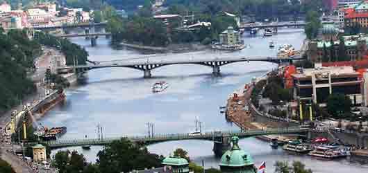 Чешская река со столичным статусом
