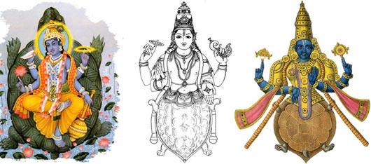 Облик второй аватары Вишну