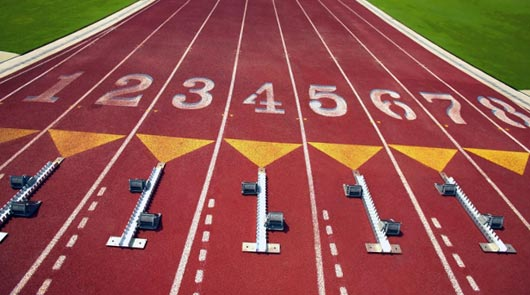 Олимпийский легкоатлет
