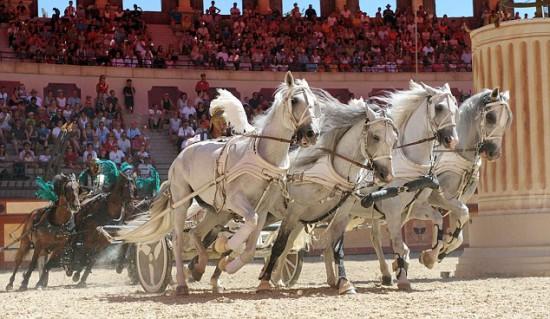 Гладиатор на колеснице