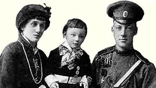 Отец единственного ребенка Анны Ахматовой