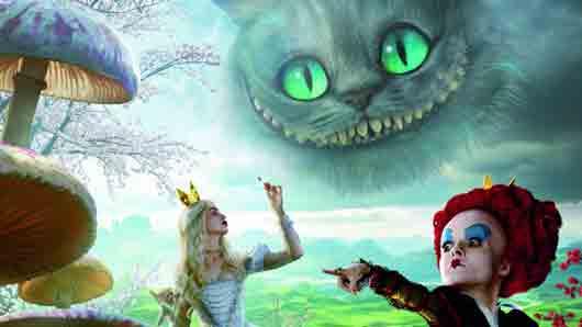 Безумное ... из сказки про Алису в Стране чудес