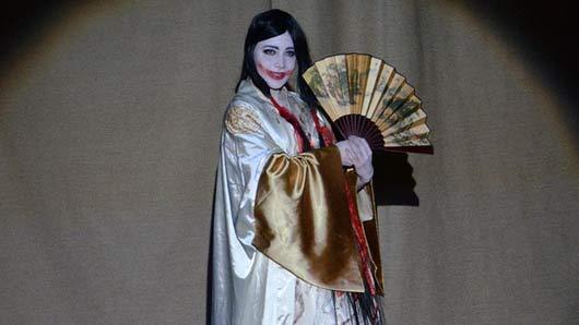 Японский танец с веером