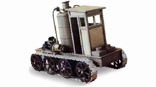 Русский крестьянин, придумавший в 1879 году трактор