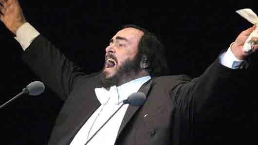 «Золотая ария» из репертуара Лучано Паваротти