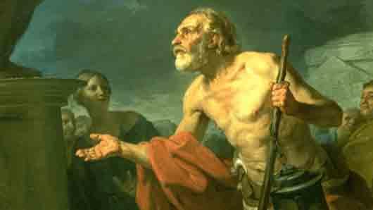 Какого философа Платон окрестил «беснующимся Сократом»
