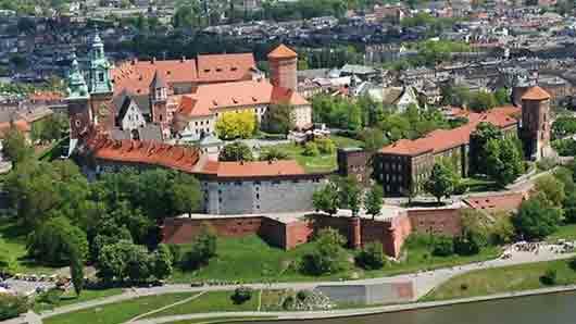 Королевский замок Кракова