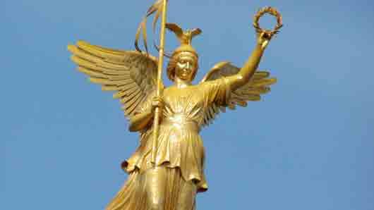 """Античная богиня """"счастливого исхода"""""""