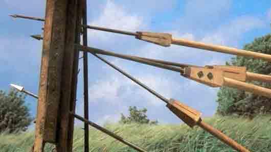Дротик у древнеримского пехотинца