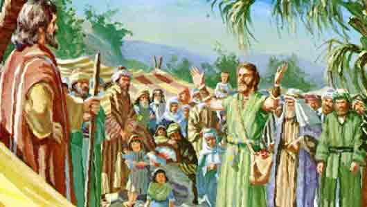 Какой край обследовали двенадцать ветхозаветных шпионов по заданию Моисея