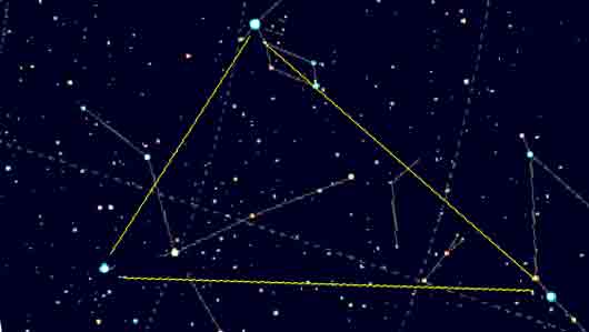 Звезда «Большого летнего треугольника»