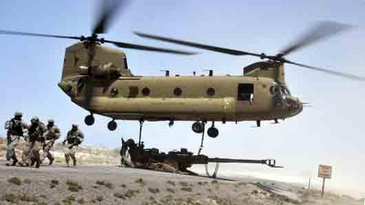 Американский военный вертолет
