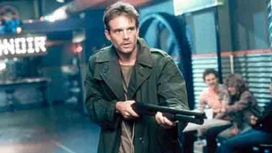 Кто из героев культового фильма произносит не более 40 слов, треть из которых - названия огнестрельного оружия и еще треть - повторение одного и того же имени?