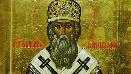Митрополит, венчавший на царство Ивана Грозного