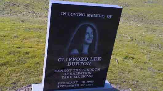 Чей обрыв отнял жизнь у легендарного гитариста Клиффа Бертона