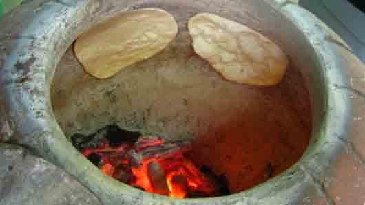 Печь в индийском ресторане