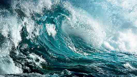 Пенная волна