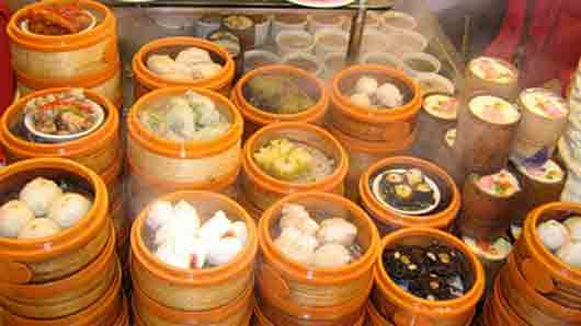Закуски к традиционному китайскому чаепитию