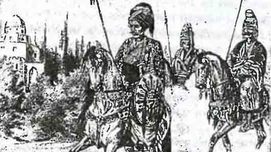 Оруженосец турецкого султана