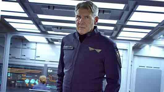Руководитель военной школы с лицом Харрисона Форда из фильма «Игра Эндера»
