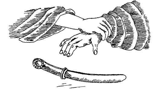 С какой библейской историей связан ритуальный нож из романа «Утраченный символ» Дэна Брауна