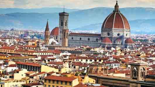 Жители итальянского города, где сочинял свою «Божественную комедию» великий Данте