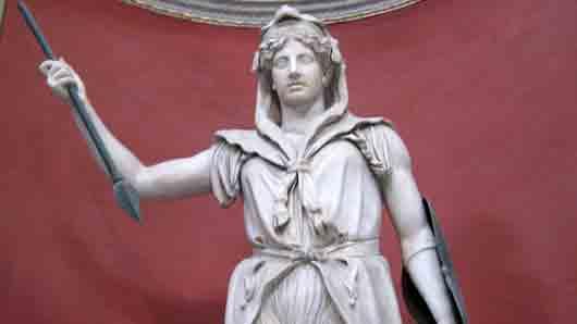 Какой богине древние римляне приносили жертвы на Марсовом поле
