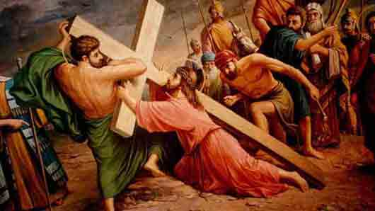 Кто помог Иисусу Христу донести крест до Голгофы