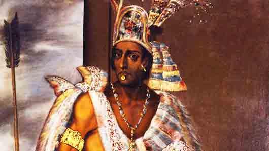 Национальность великого вождя Монтесумы