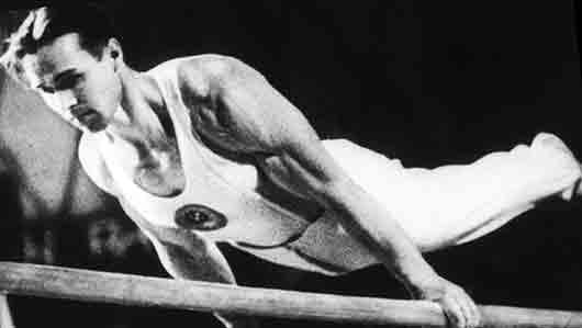 Наш гимнаст, ставший многократным чемпионом Олимпийских игр, пройдя войну и все ужасы фашистского концлагеря