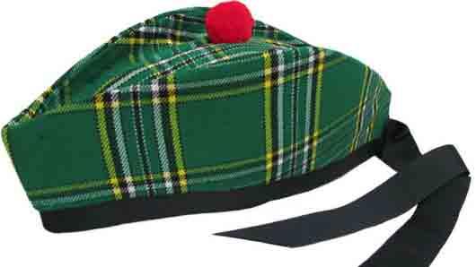 Шапка на шотландском горце